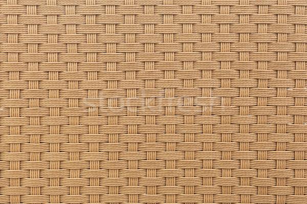weave plastic wicker pattern background Stock photo © FrameAngel