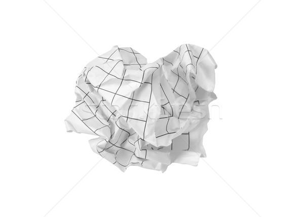 Crumpled paper ball Stock photo © FrameAngel