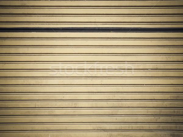металл затвор фон безопасности магазин железной Сток-фото © FrameAngel