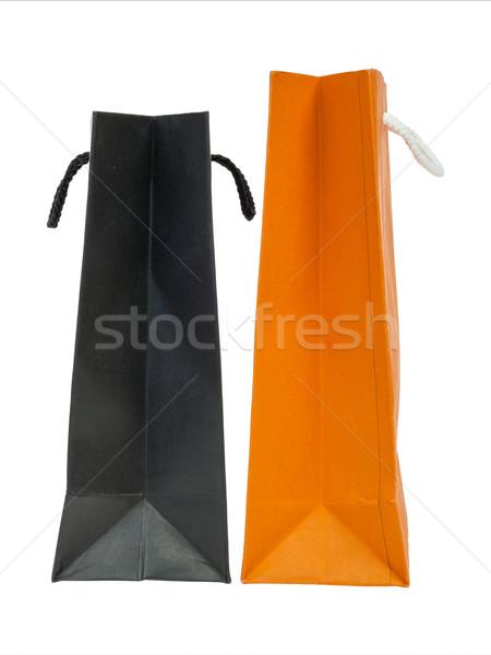 紙袋 紙 ショッピング 白 スタジオ パッケージ ストックフォト © FrameAngel