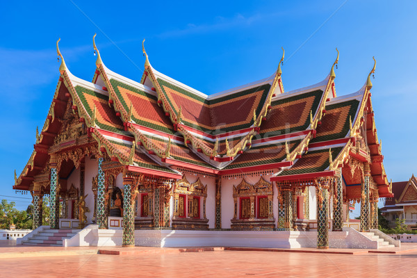 Temple names 'Pra That Cherng Chum', Sakonnakhon Thailand Stock photo © FrameAngel