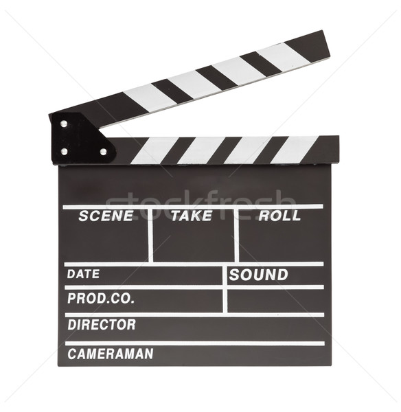 film clapper  board with space Stock photo © FrameAngel