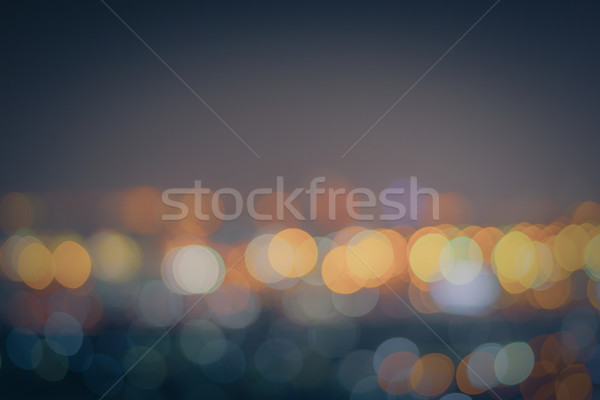 Abstract Bokeh blurred color light can use background Stock photo © FrameAngel
