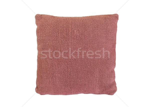 Kanepe yastık kadife kapak sevmek iç Stok fotoğraf © FrameAngel