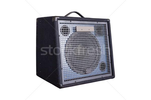Keyboard Power Amplifier isolated on white background Stock photo © FrameAngel