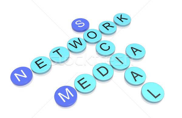 Social Media Network  Stock photo © FrameAngel