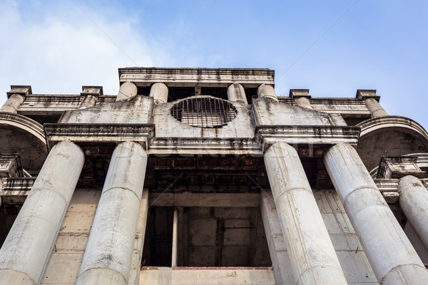 abandoned building can use horror movie scene background, low an Stock photo © FrameAngel