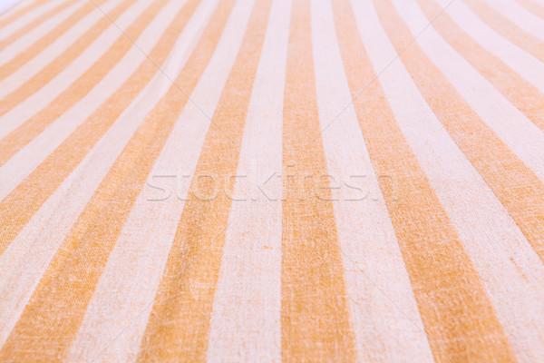 striped fabric soft focus Stock photo © FrameAngel