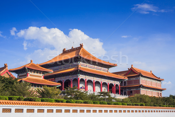 Chinese Buddhist temple in Bangkok names 'Wat Mangkon Kamalawat' Stock photo © FrameAngel