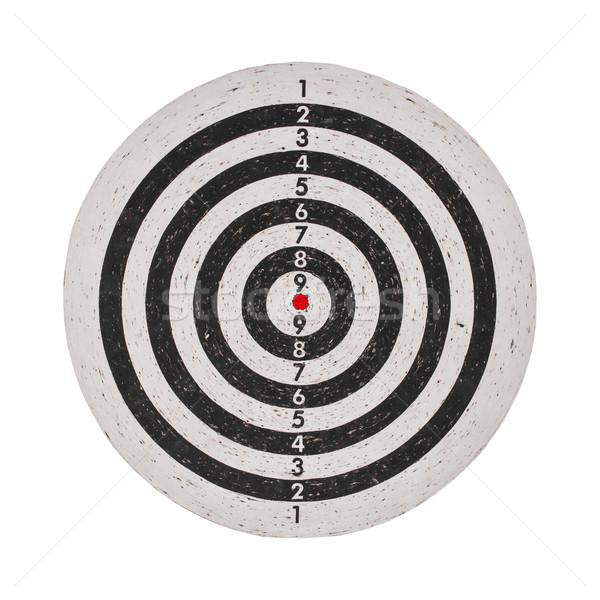 Success concept, target on dartboard Stock photo © FrameAngel