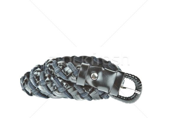 colorful black belt on white background Stock photo © FrameAngel
