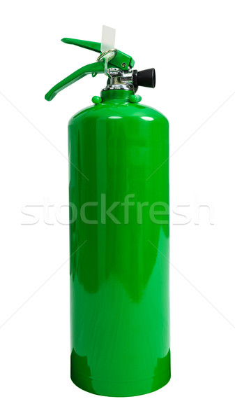 fire extinguisher isolate on white background Stock photo © FrameAngel