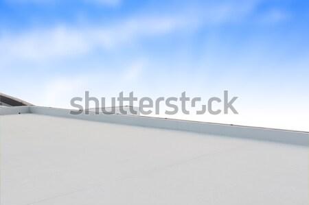 デッキ テラス 屋上 ビジネス 建物 青空 ストックフォト © FrameAngel