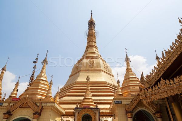 Sule pagoda in Yangon, Burma (Myanmar) Stock photo © FrameAngel