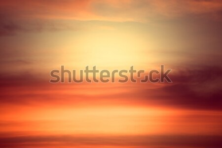 abstract sky cloud color sunset background Stock photo © FrameAngel