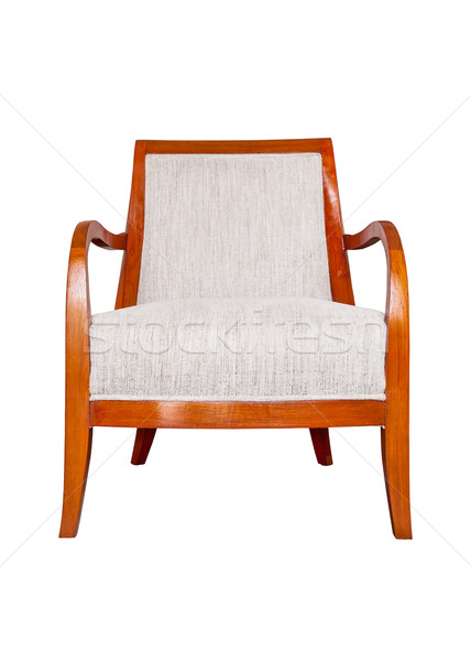 wood chair, sofa isolated on white Stock photo © FrameAngel