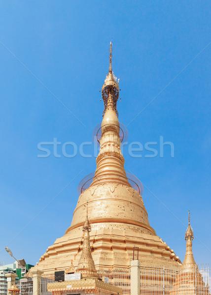 Pagode birma Myanmar wereld nacht kleur Stockfoto © FrameAngel