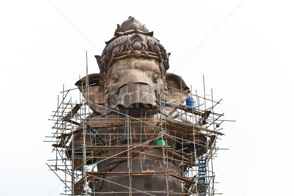 Isten thai templom istentisztelet fej elefánt Stock fotó © FrameAngel