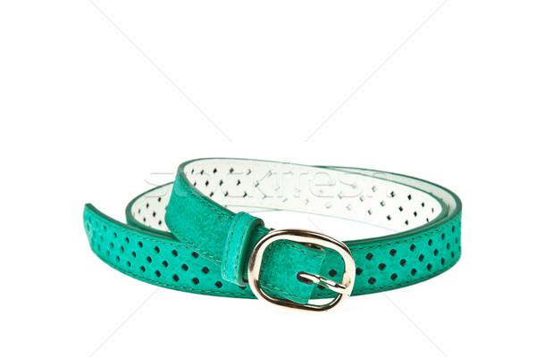 colorful green belt on white background Stock photo © FrameAngel