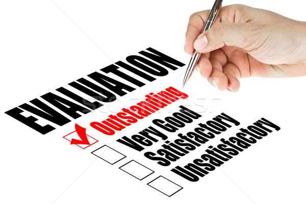 evaluation quality survey  Stock photo © FrameAngel