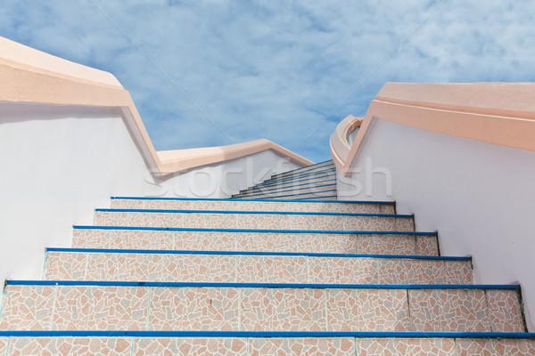 stairs into sky  Stock photo © FrameAngel