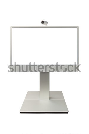 teleconference, video conference and telepresence camera display Stock photo © FrameAngel