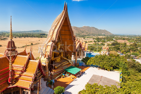 Buddhist Temple names 'Wat Tham Sua' and 'Wat Tham Khao Noi' in  Stock photo © FrameAngel