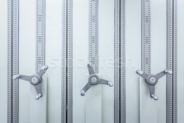 filing cabinet with wheel for business document secret and safet Stock photo © FrameAngel