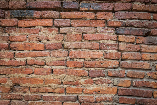 red old brick wall texture background Stock photo © FrameAngel