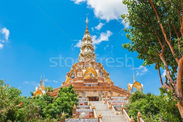 Stairway to Phasornkaew Temple ,Khao Kho Phetchabun Thailand Stock photo © FrameAngel