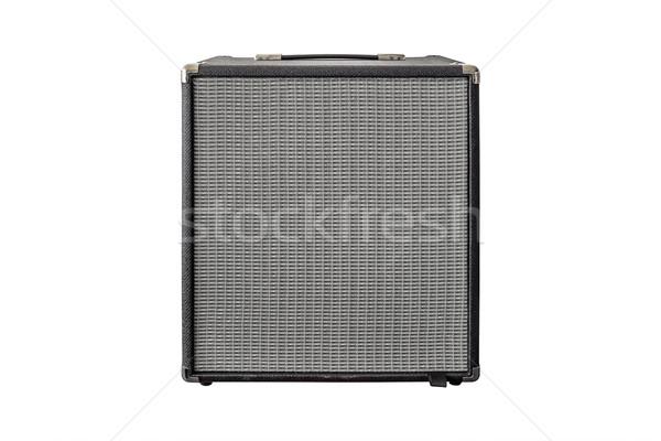 Guitar Power Amplifier isolated on white background Stock photo © FrameAngel
