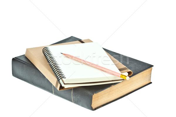 Farbują świetle krem kolor papieru Uwaga Zdjęcia stock © FrameAngel