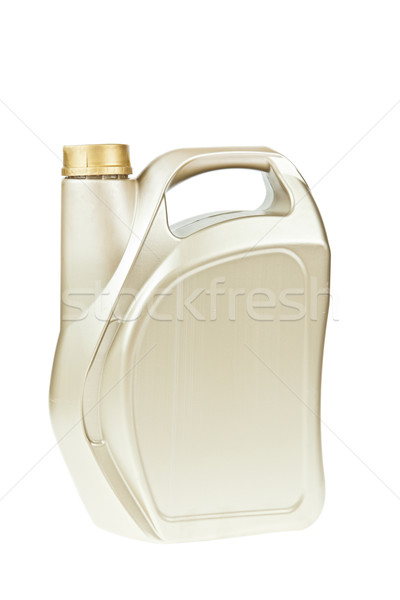 Oil canister isolated on a white background Stock photo © FrameAngel