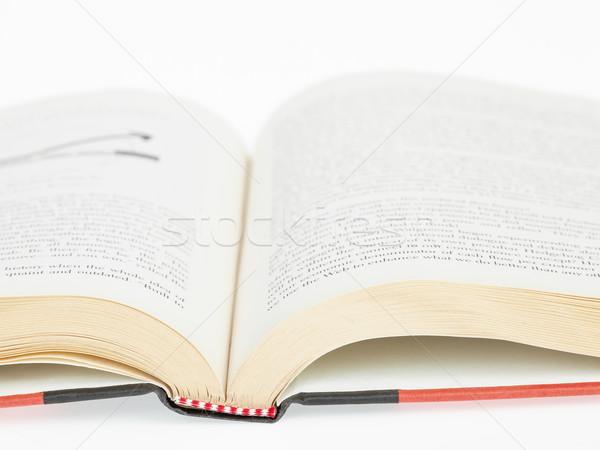 Open book closeup Stock photo © FrameAngel