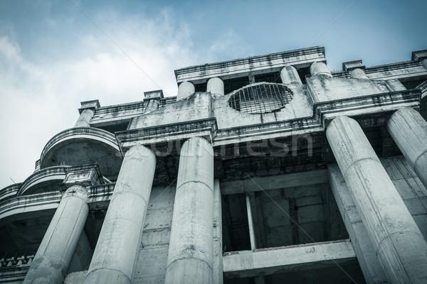 Abandonado edificio pueden horror película escena Foto stock © FrameAngel