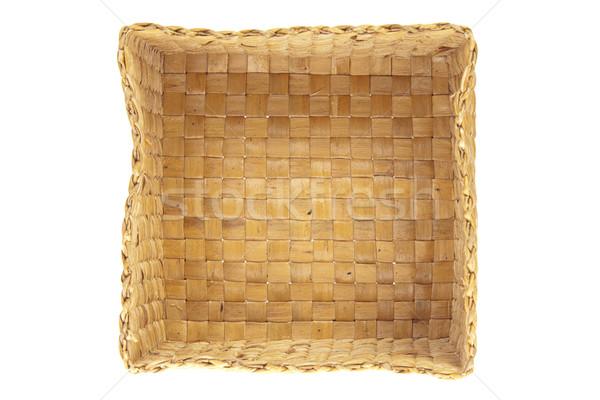 inside wicker basket isolated top view Stock photo © FrameAngel