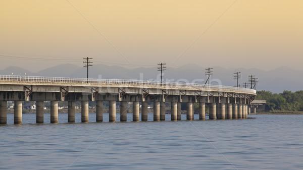 bridge over the river  Stock photo © FrameAngel