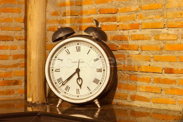 vintage clock Stock photo © FrameAngel