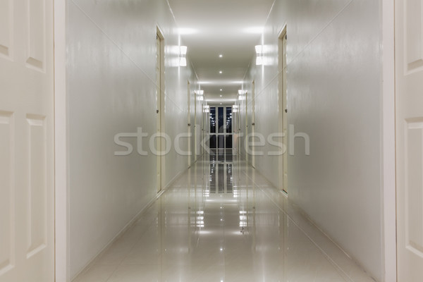 пусто коридор прихожей комнату дверей здании Сток-фото © FrameAngel
