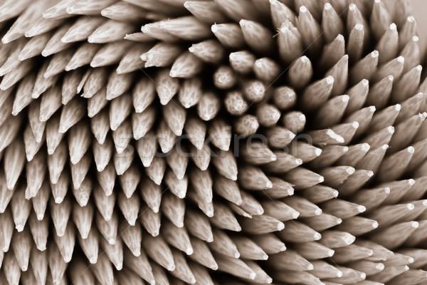 Bamboo wooden toothpicks abstract background Stock photo © FrameAngel