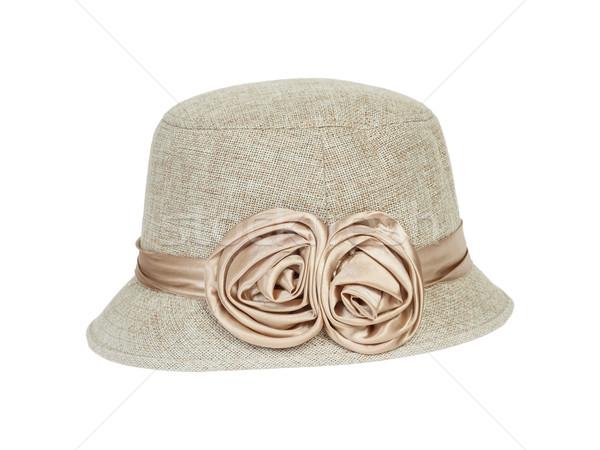 Fashion lady hat  Stock photo © FrameAngel