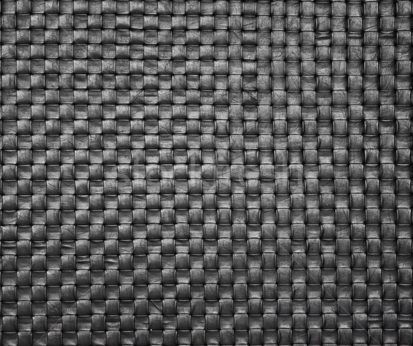 Black Leather Background Stock photo © FrameAngel