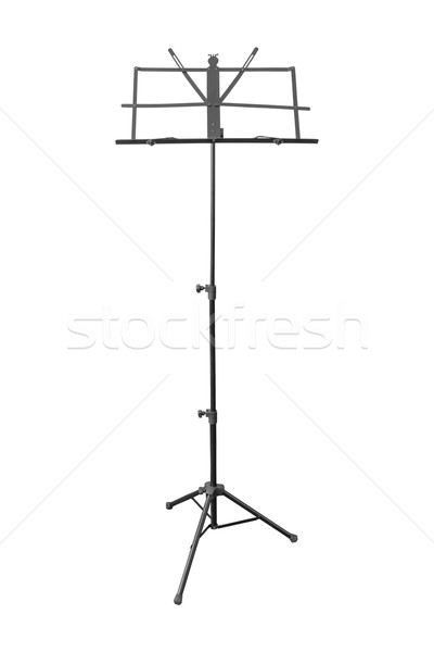 音楽 スタンド 孤立した 白 デザイン 背景 ストックフォト © FrameAngel
