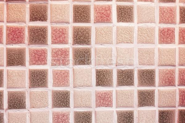 Vetro · mosaico · piastrelle · bagno · texture · costruzione foto