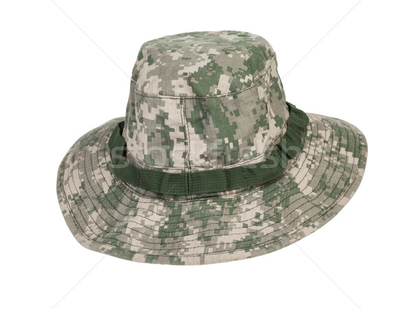 camouflage hat Stock photo © FrameAngel