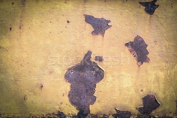 Metal textura do grunge parede abstrato fundo indústria Foto stock © FrameAngel