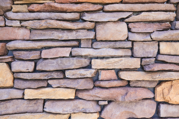 Background texture stone wall stacking layer Stock photo © FrameAngel