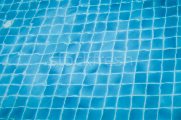 abstract blur of Swimming pool background of luxury hotel Stock photo © FrameAngel