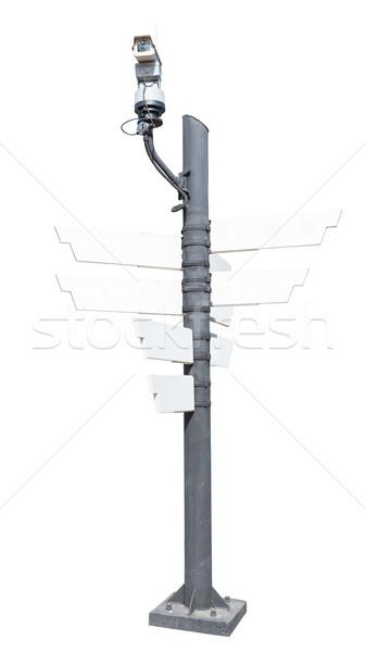 Cctv 防犯カメラ ワイヤレス 道路 技術 セキュリティ ストックフォト © FrameAngel