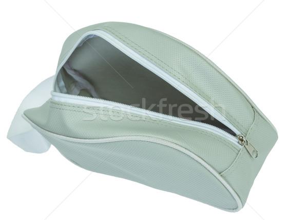 cosmetics or sport bag,open zip Stock photo © FrameAngel